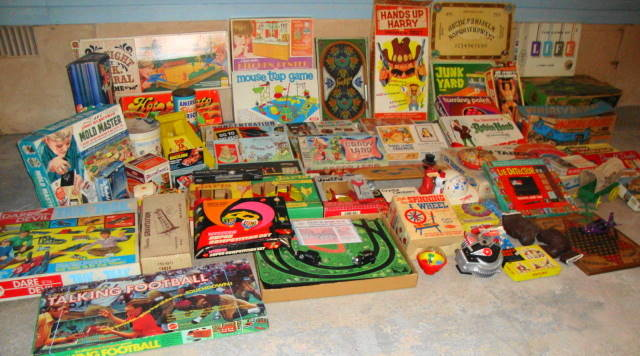 1950s and 1960s Vintage Toys!