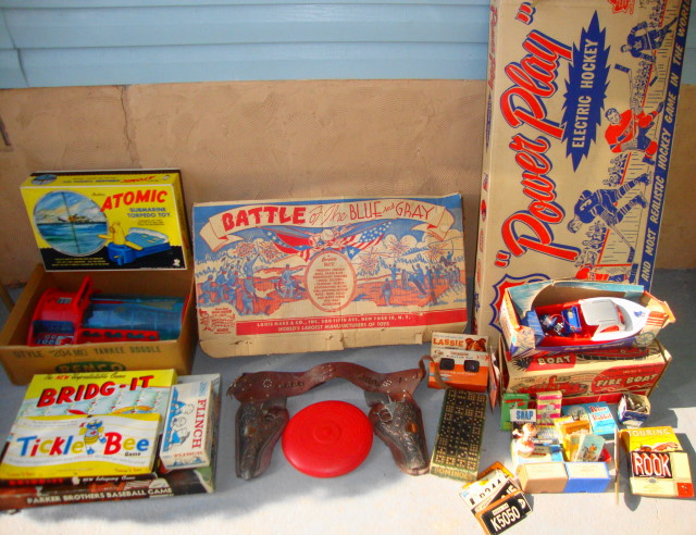 1950s & 60s Toys FRESH From the Estate!