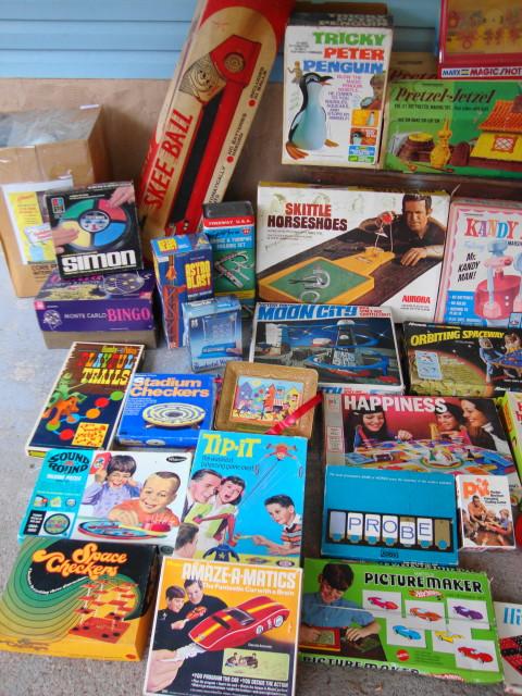 Vintage 1950s 1960s 1970s Toys!