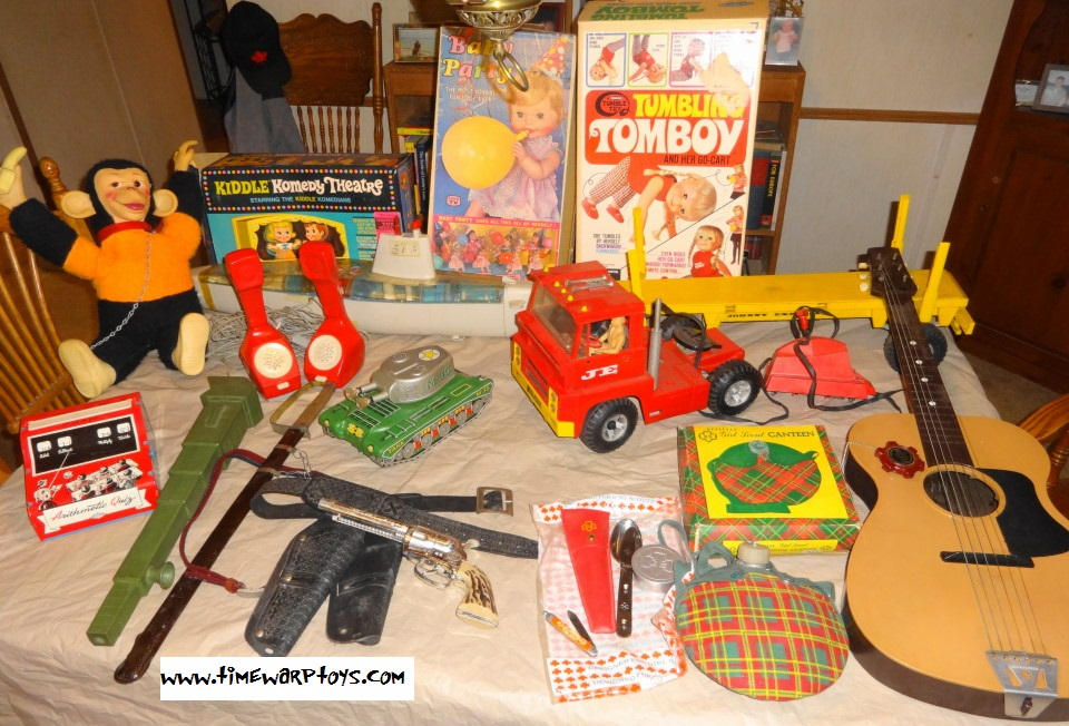 Vintage 1950s 1960s Toys For Sale