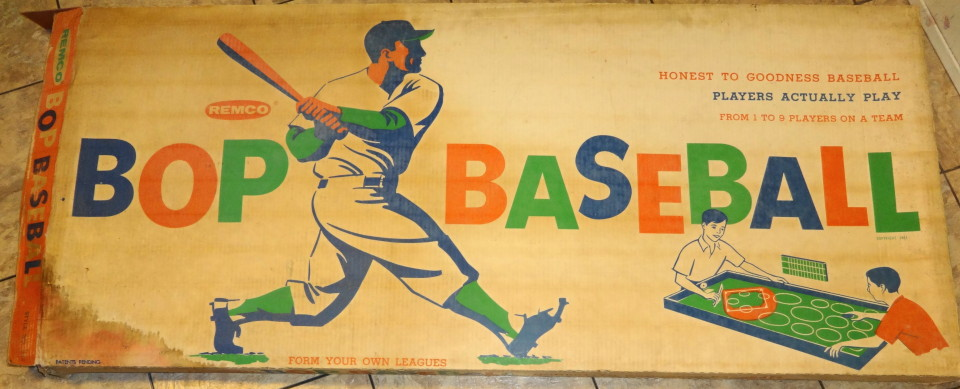 1961 Bop Baseball Game Mint & Complete