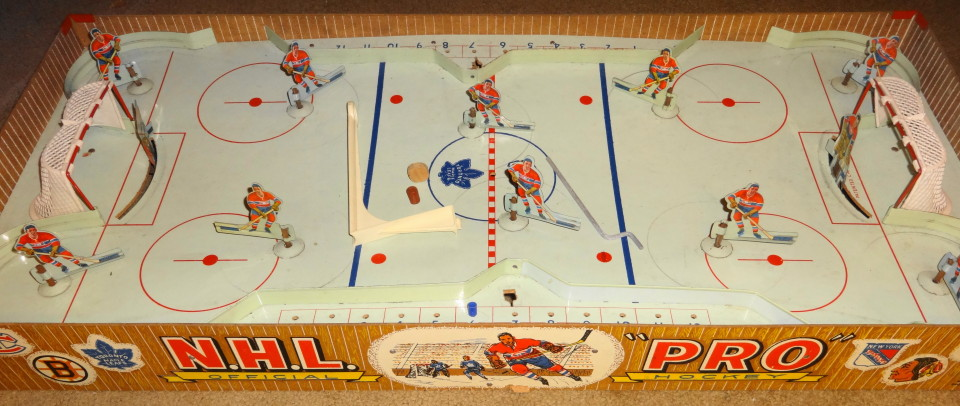 1950s Tabletop Hockey Game