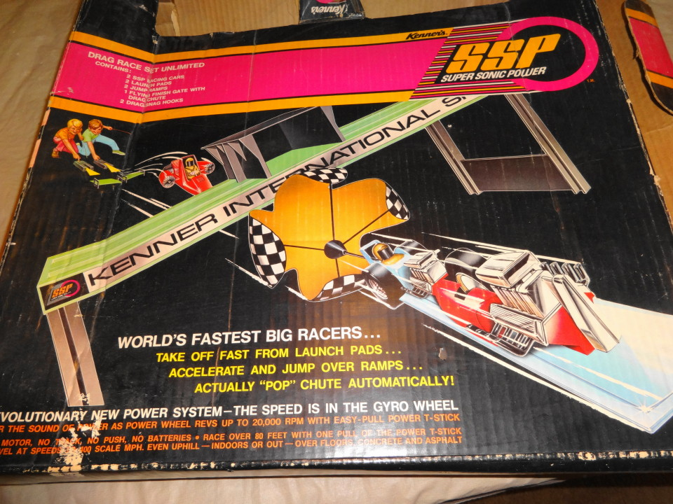 Kenner SSP Drag Set