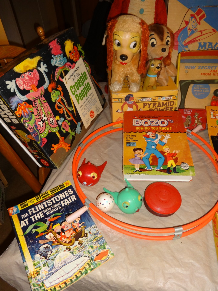 Vintage 1950s 1960s 1970s Toys for Sale!