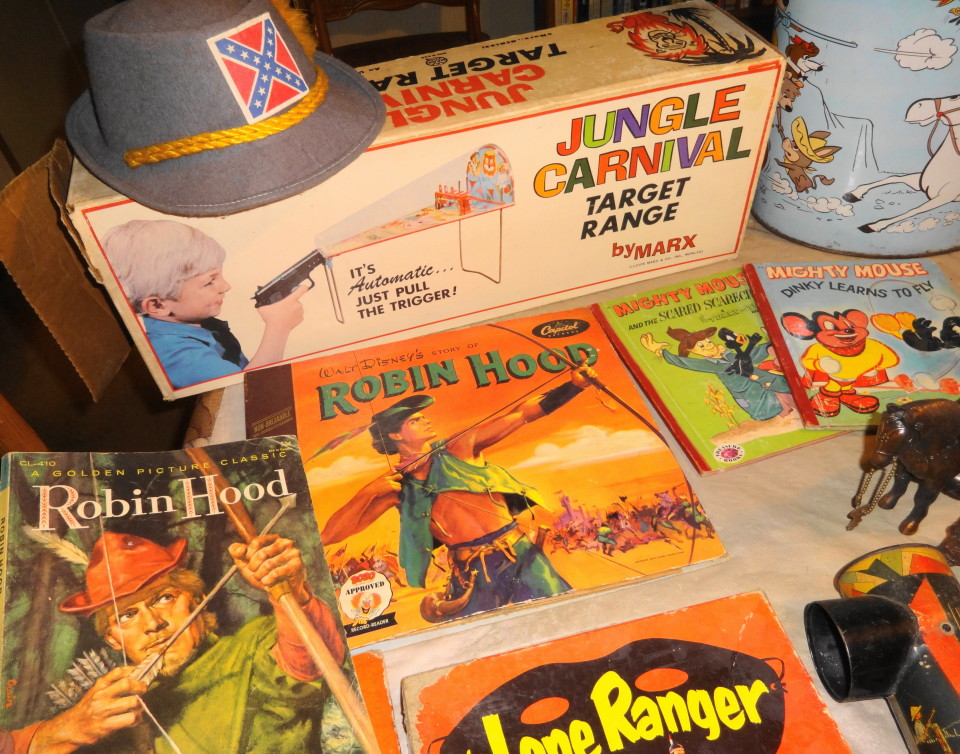Vintage 1950s 1960s 1970s Toys Games For Sale!