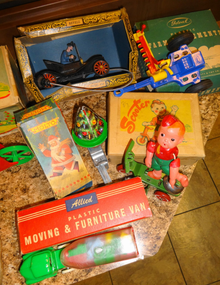 Vintage 1950s 1960s 1970 Toys For Sale!