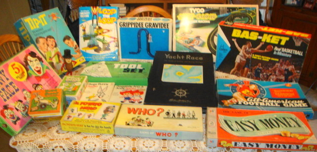 Auction Finds Vintage Toys & Games