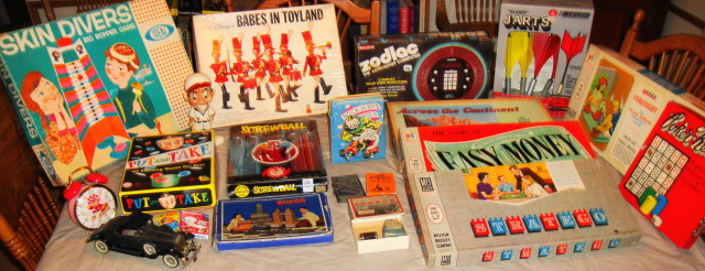 1950s 60s & 70s Toys from auction today!