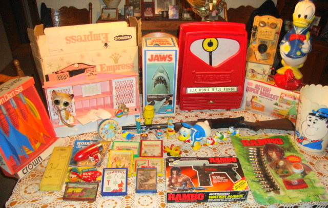 Estate Auction Finds - Vintage Toys!