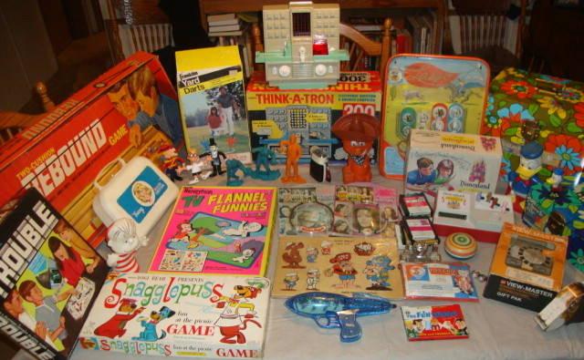 Vintage 1960s & 1970s Toys