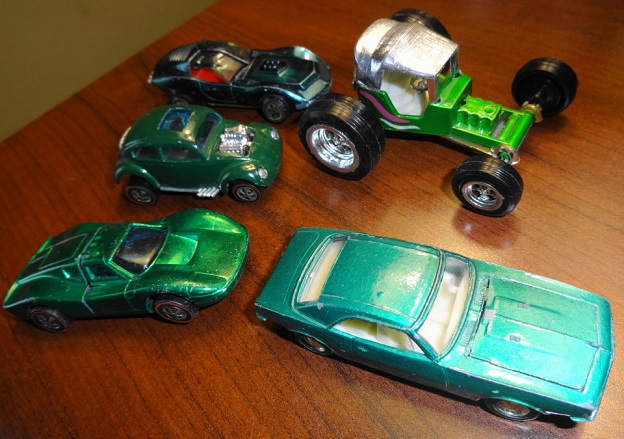 1960s Hot Wheels Redlines