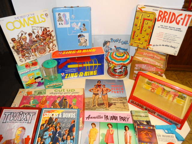 Vintage 1960s and 1970s Toys for Sale