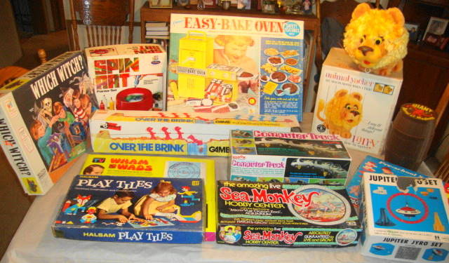 Auction Finds - Vintage Toys & Games 1950s 1960s 1970s