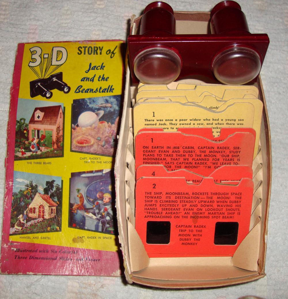 1950s 3D Viewer Space & Jack
