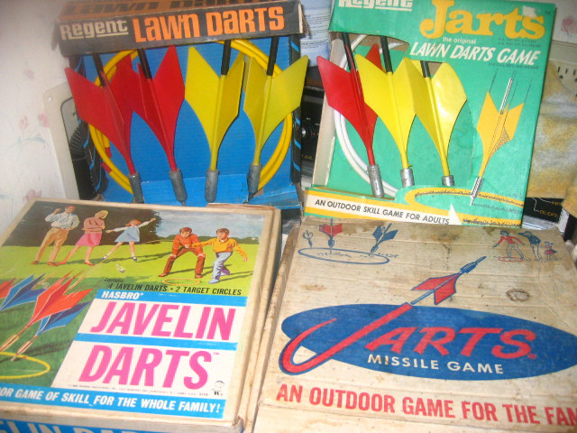 4 Sets of Original Lawn Darts