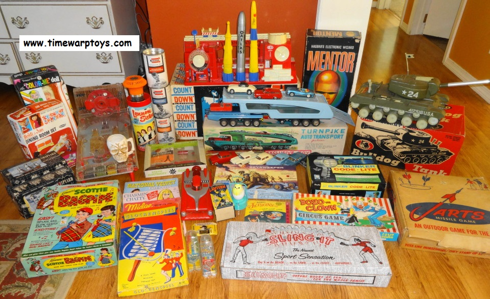 Vintage Toys for sale. 1950s 1960s