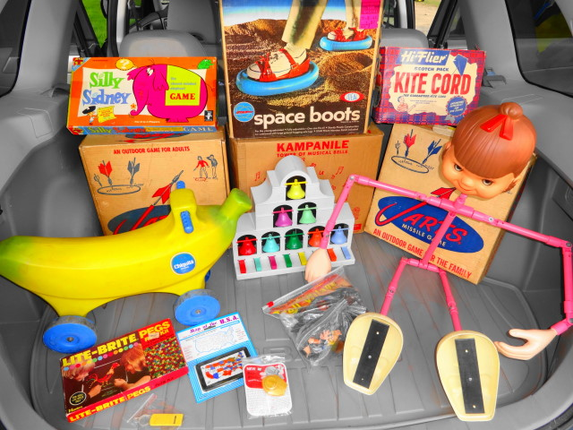 1950s & 1960s Vintage Toys for Sale