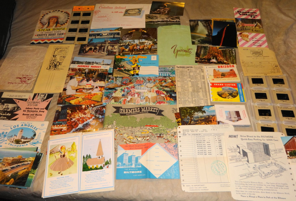 1959 Vacation Souvenir Lot