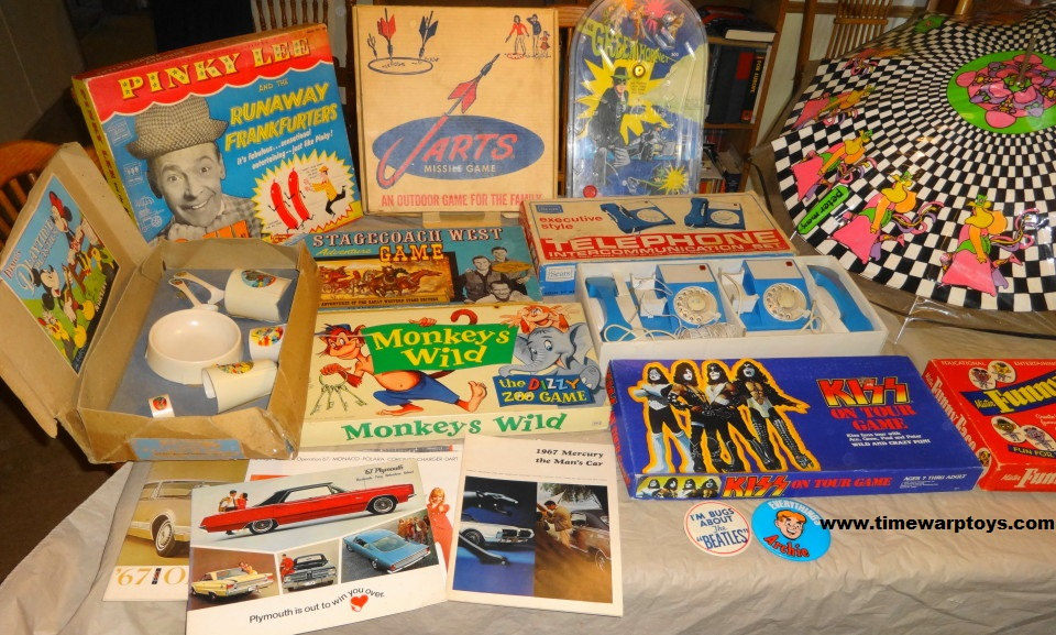 Vintage Toys & Games for Sale 1950s 1960s 1970s