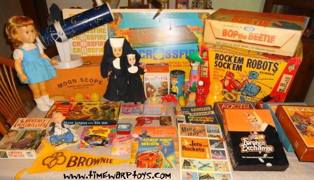 Vintage 1950s 1960s 1970s Toys & Games For Sale!
