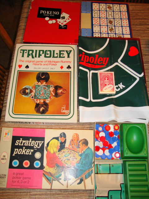 1960s Cards & Chips Games Bundle