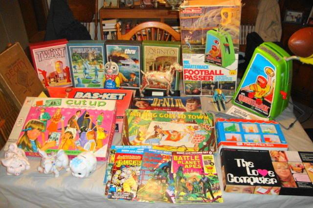 Vintage Toys & Games