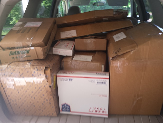 Vintage 1950s 1960s Toys going to their new homes!