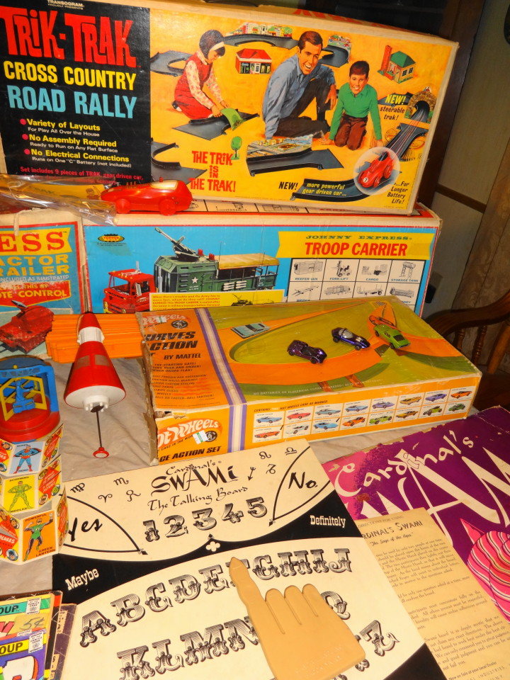 Vintage 1950s & 1960s Toys & Games for sale.