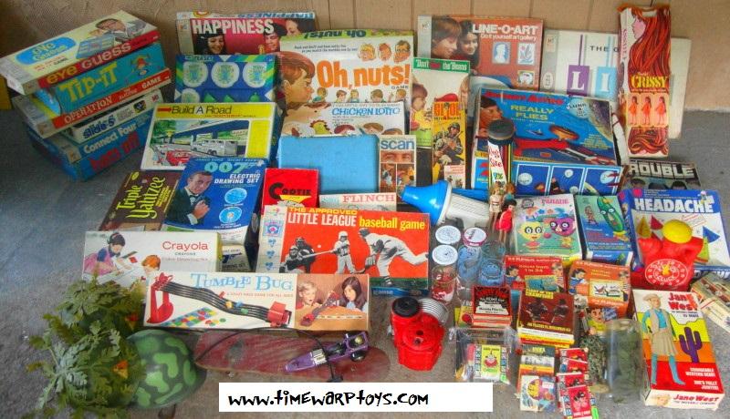 Vintage Toys Lot 1960s - 1970s