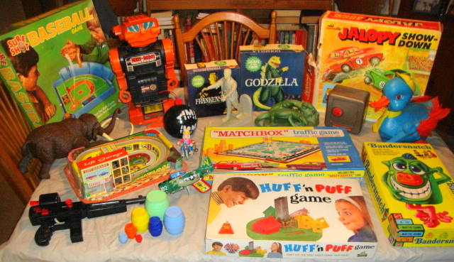 Vintage Toy Finds 1950s, 1960s & 1970s