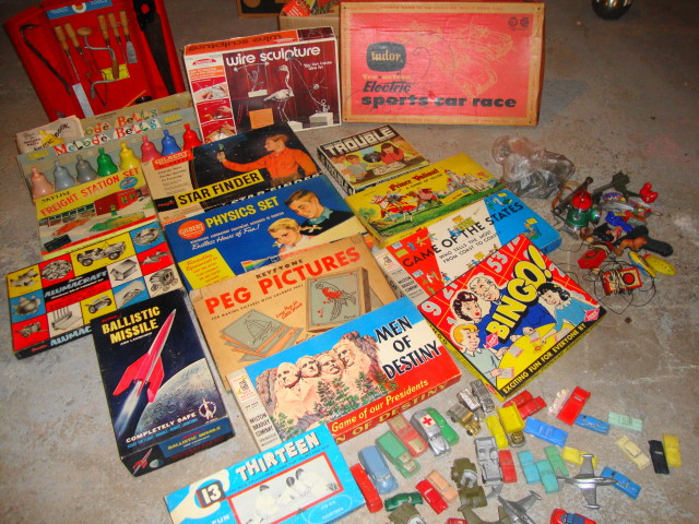 TOYS!! Mostly 1950s - some 60s