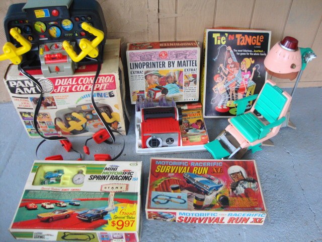 More Neat 60s Toys for the site!
