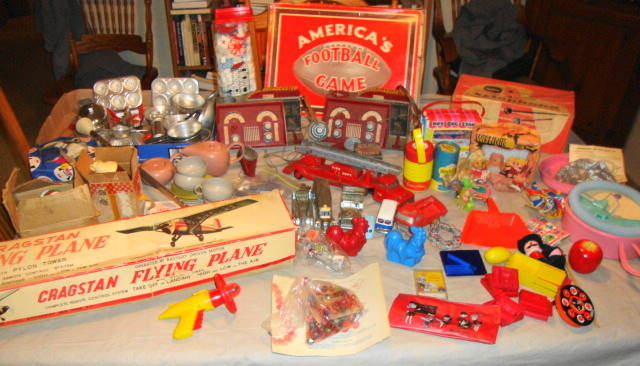 Vintage 1950s & 1960s Toys
