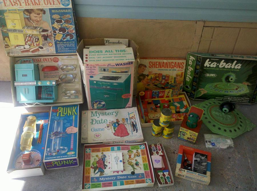 Toys from Estate