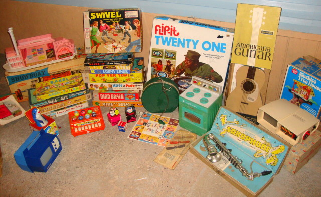 Vintage 1960s 1970s Toys