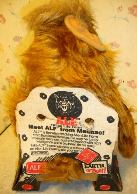 1986 ALF Doll by Coleco