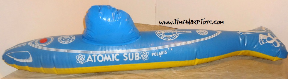 1960 Polaris Atomic Sub Inflatable Toy