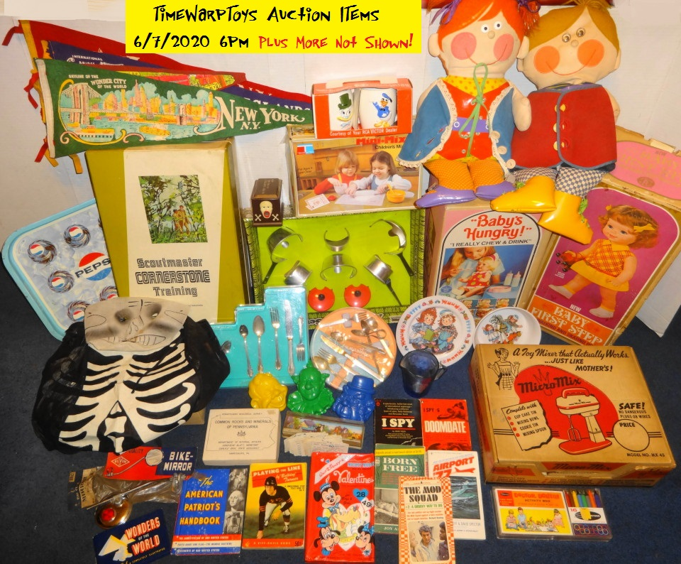 Our Chat Room Auction Items 6/7/20
