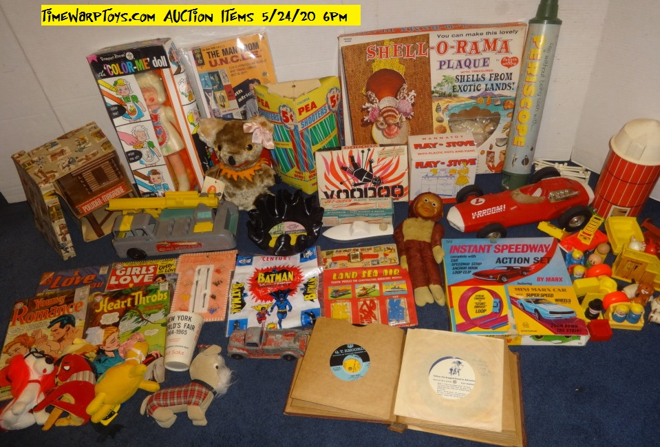 Our first online live auction 5-24-20
