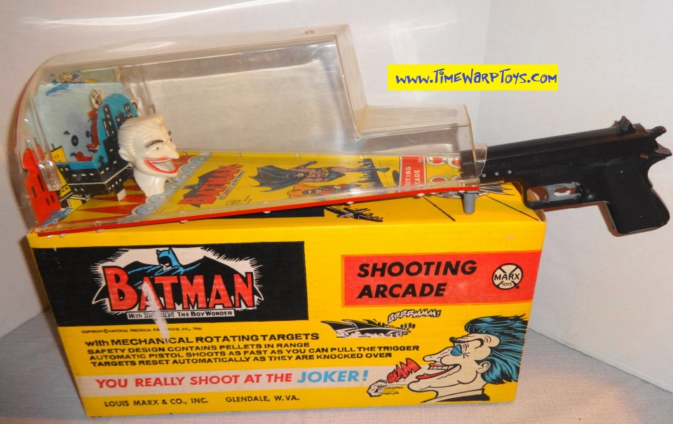 1966 Batman Shooting Arcade