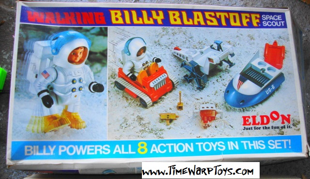 Billy Blastoff Space Scout 1971