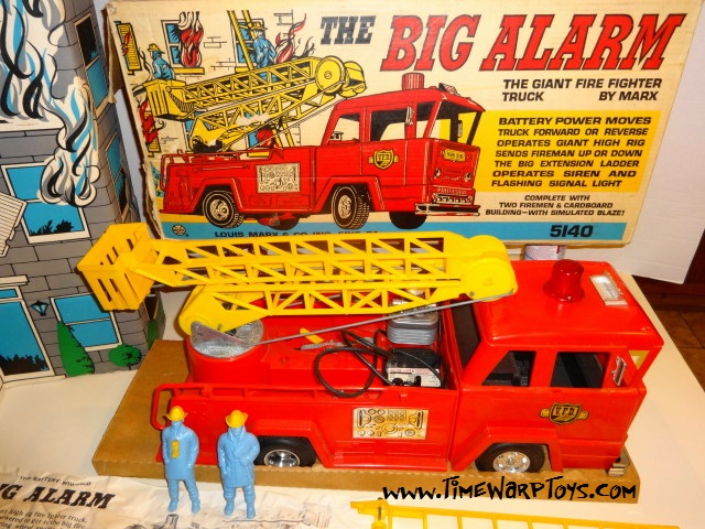 The Big Alarm Fire Truck by Marx