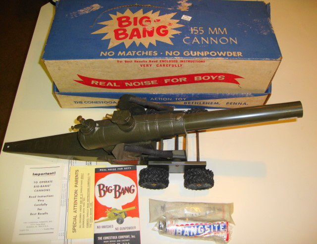 1960s Big Bang Cannon