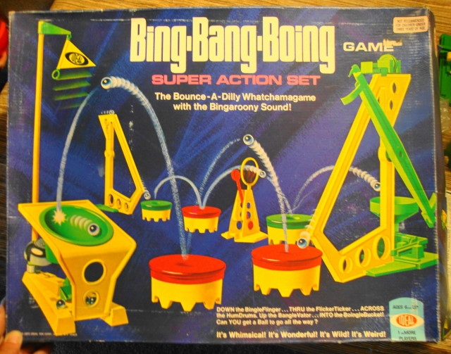 1972 Bing Bang Boing Game by Ideal