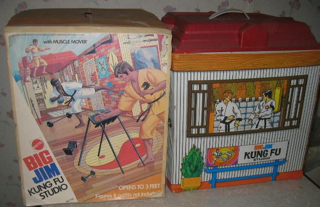 1974 Big Jim Kung Fu Studio by Mattel