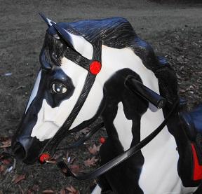 1961 Blaze Ride On Horse by Mattel