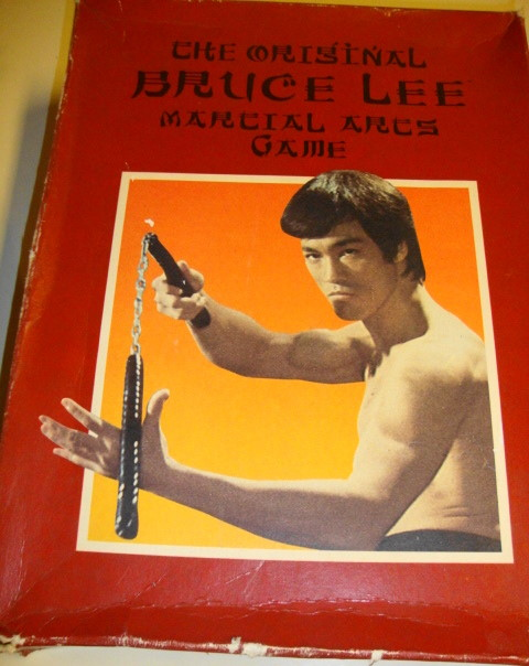 1985 Bruce Lee Martial Arts Game. COMPLETE