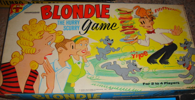 1966 Blondie Game MINT