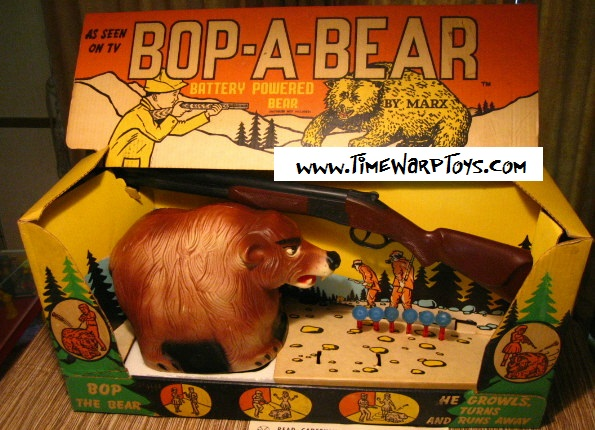 1960s Marx Bop A Bear Target Game