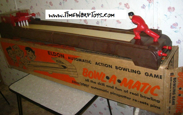 1962 Bowl A Matic by Eldon Toys